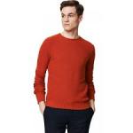 Men's Alpaca and Cotton Mix Detailed Stitch Sweater